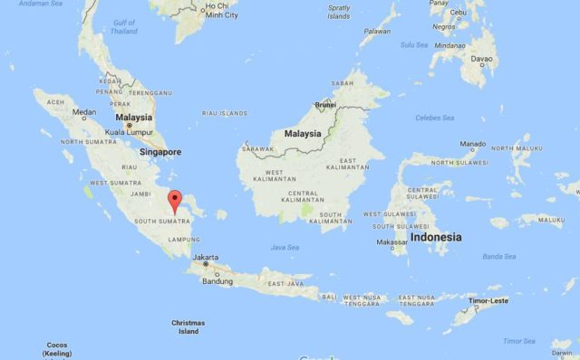 Where Is Christmas Island On A Map.Palembang World Easy Guides