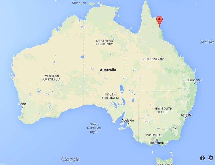 Map Of Australia Port Douglas.Where Is Port Douglas On Map Australia
