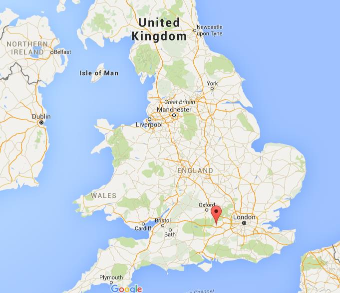 Map Of Reading Area Uk.Where Is Reading On Map England