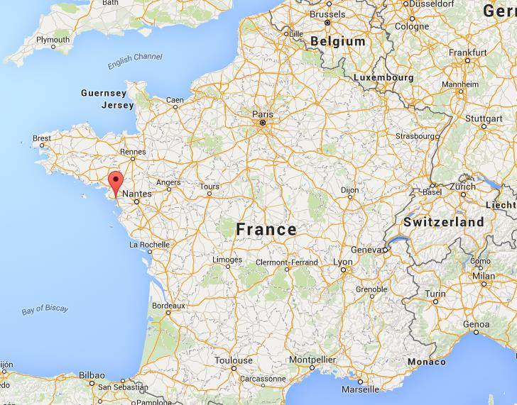Where is saint nazaire on map france - Location meuble saint nazaire ...