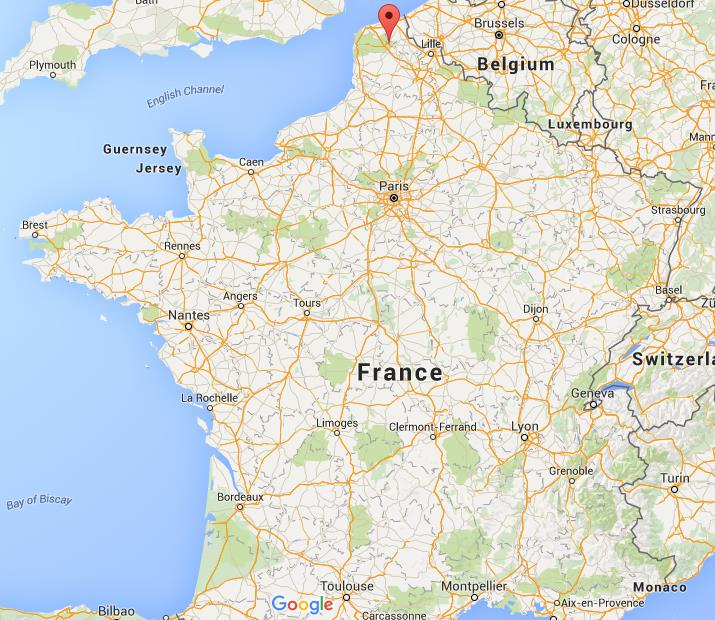 Where Is Saint Omer On Map France