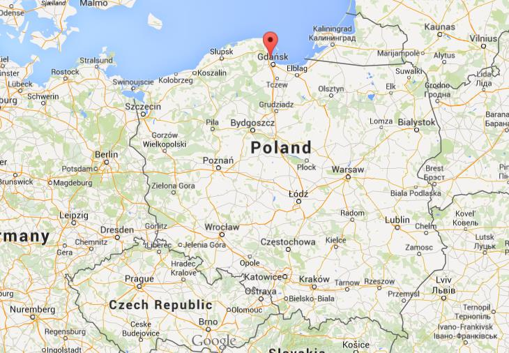 Where Is Sopot On Map Poland