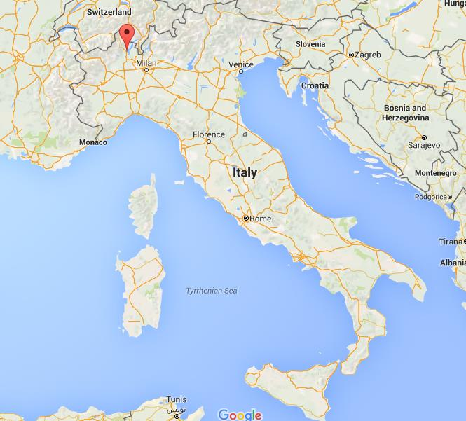 Where Is Stresa On Map Italy