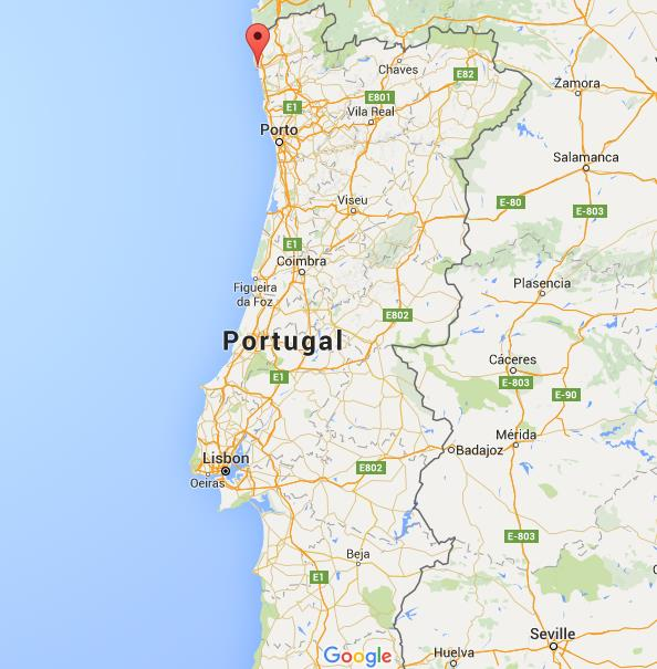 Where Is Viana Do Castelo On Map Portugal