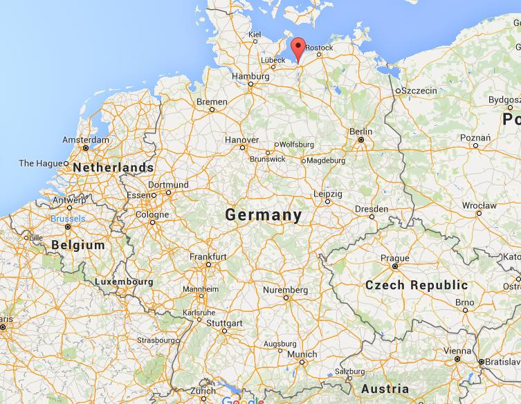 where is wismar on map germany
