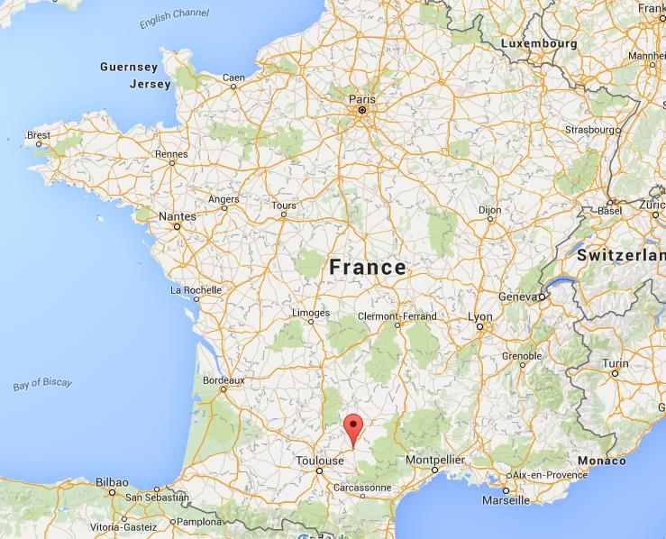 Where Is Albi On Map France