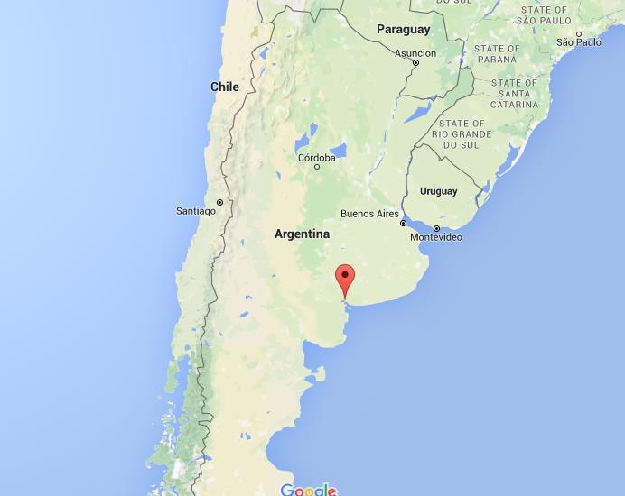 Where Is Bahia Blanca On Map Argentina World Easy Guides - Argentina global map