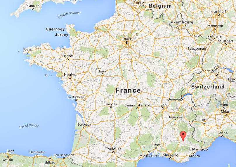 Where Is Digne Les Bains On Map France