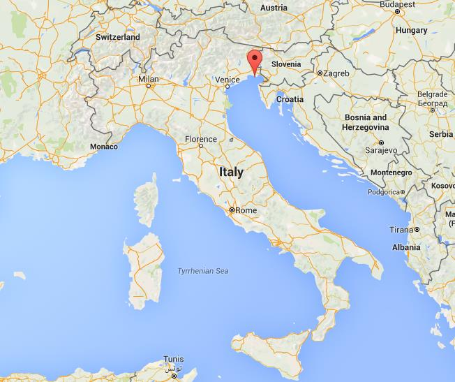 Where Is Grado On Map Italy