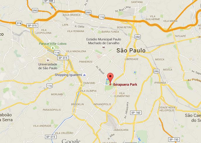 Where Is Ibirapuera Park On Map Of Sao Paulo World Easy Guides - Map of sao paulo