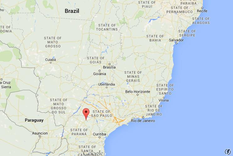 Where Is Londrina On Map Brazil World Easy Guides - Londrina map