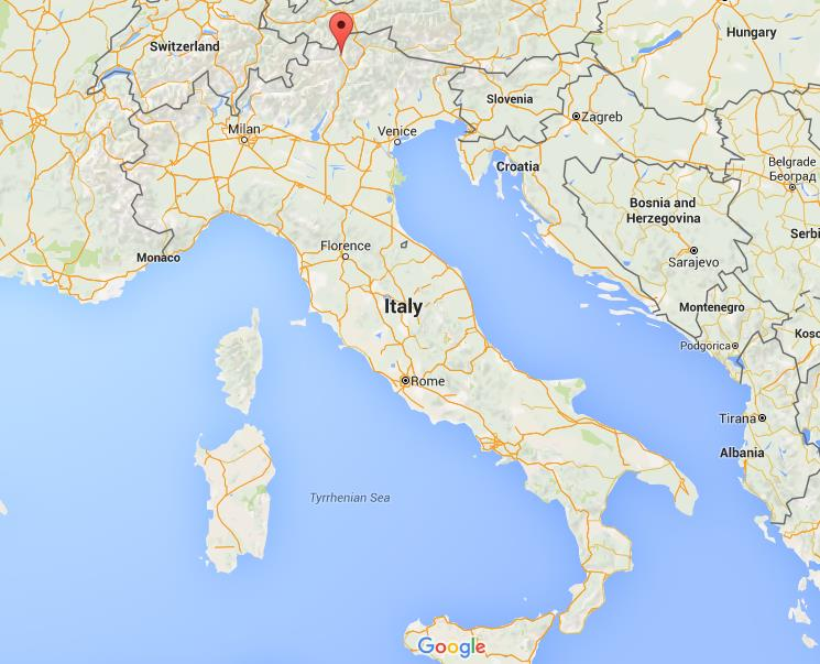 Where Is Merano On Map Italy