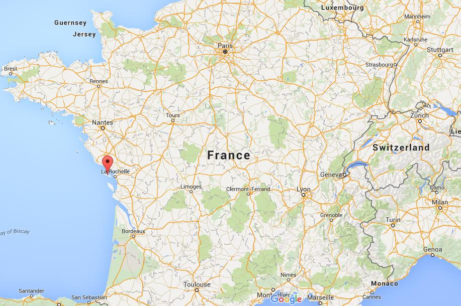 Where is ile de re on map france - Location garage ile de france ...