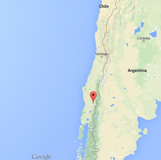 map of pucon chile Where Is Pucon On Map Chile map of pucon chile