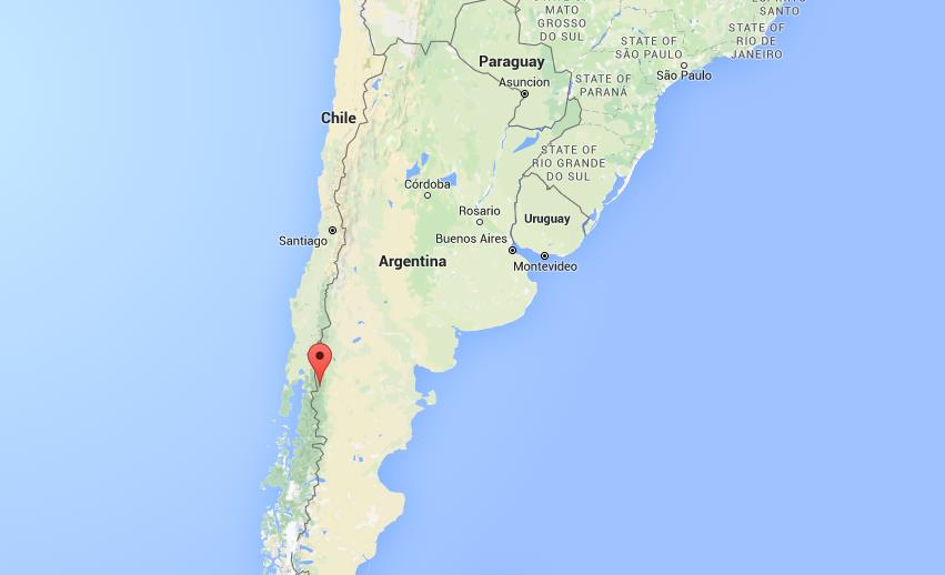 Where Is El Bolson On Map Argentina World Easy Guides - Argentina map location