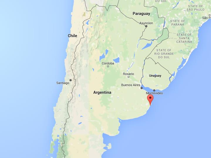 Where Is Pinamar On Map Argentina World Easy Guides