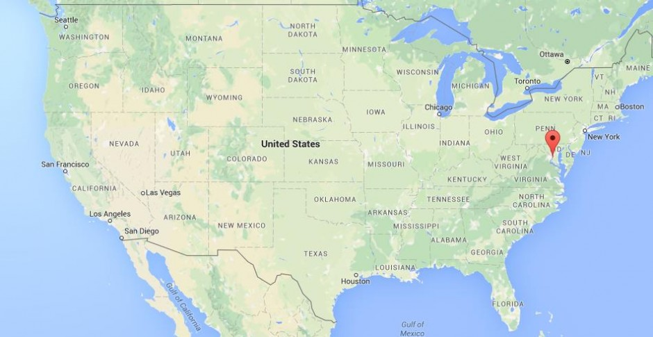 where is alexandria on map usa