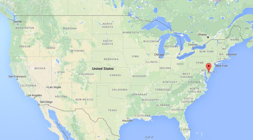 Where Is Delaware On Map USA World Easy Guides - Delaware location in usa map