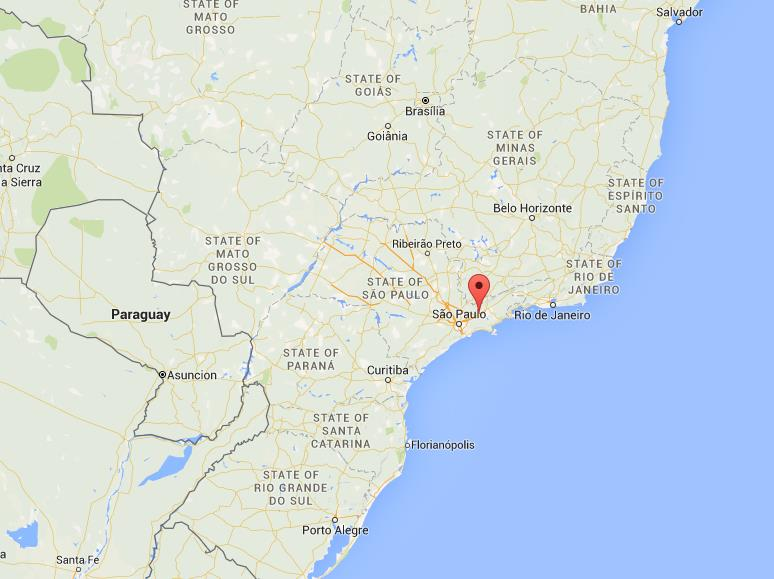 Where is so jos dos campos on map brazil gumiabroncs Images
