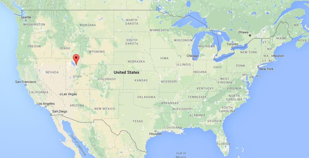 Where Is Salt Lake City On USA Map  World Easy Guides
