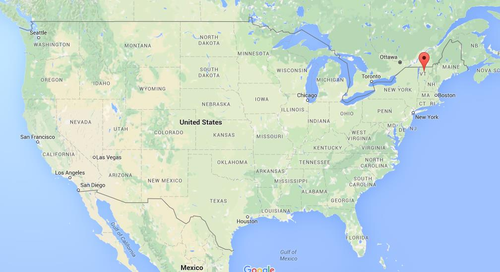 map of usa vermont Where Is Vermont On Usa Map map of usa vermont