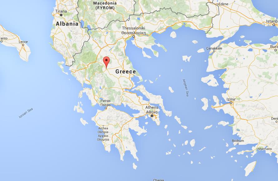 Where Is Greece On World Map.Where Is Trikala On Map Greece