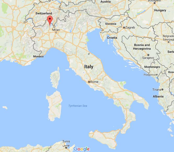 Islands Of Italy Map.Where Are Borromean Islands On Map Italy