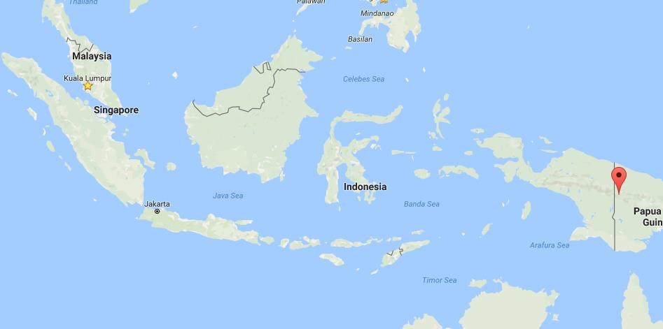 Where is New Guinea on map Indonesia World Easy Guides