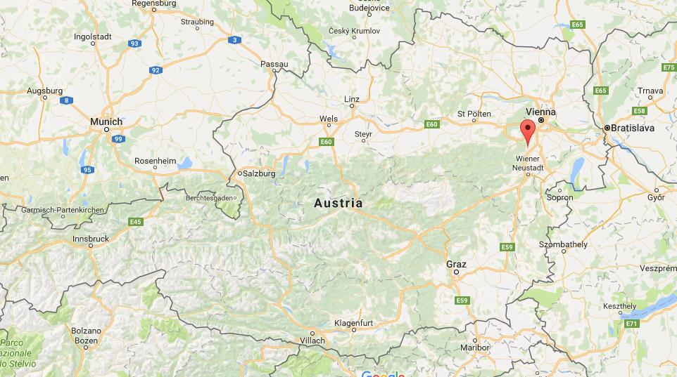 Where is Baden on map Austria World Easy Guides