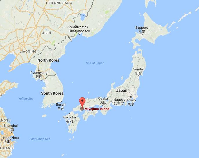 Where Is Miyajima On Map Japan World Easy Guides - Japan map easy