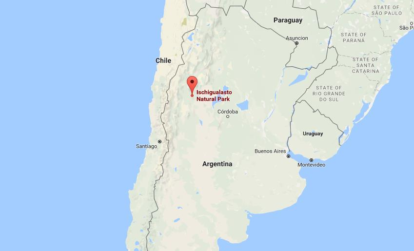 Where Is Valley Of The Moon On Map Of Argentina World Easy Guides - Argentina map and location