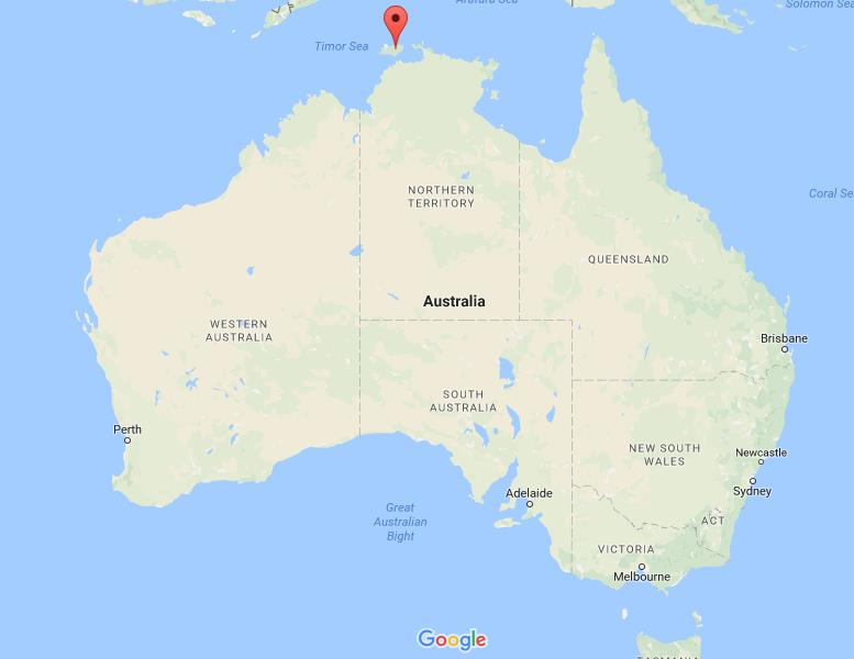 where-are-melville-and-bathurst-islands-on-map-australia