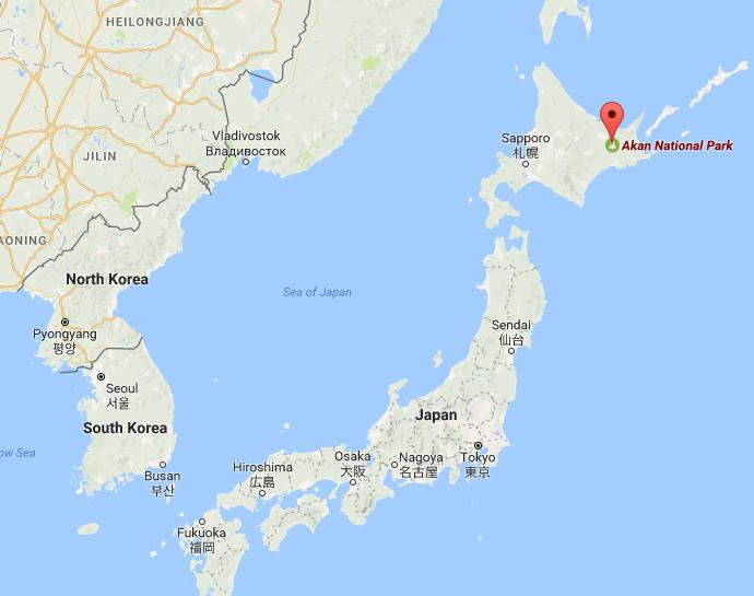 Where Is Akan National Park On Map Of Japan World Easy Guides - Japan map easy