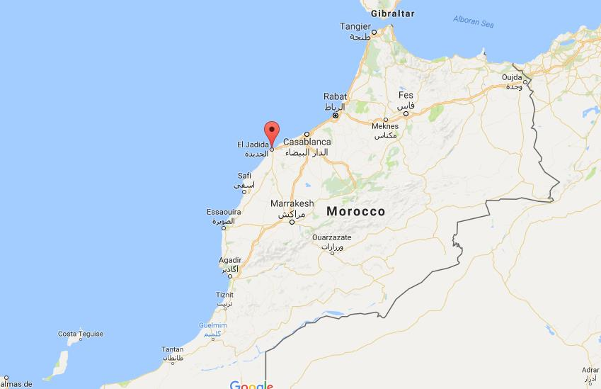 Where is el jadida on map morocco world easy guides location of el jadida on map morocco sciox Gallery
