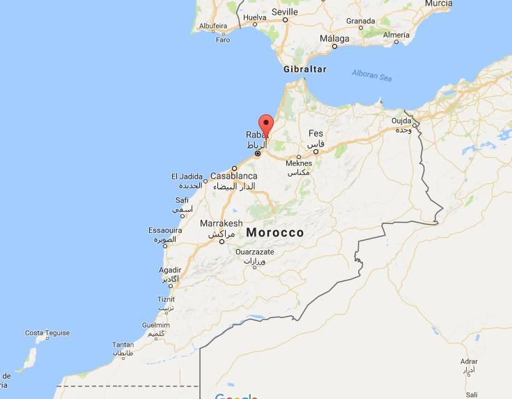 Where is Kenitra on map Morocco World Easy Guides
