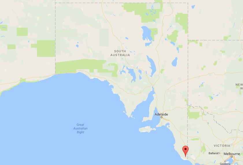 Where is Blue Lake on map South Australia World Easy Guides