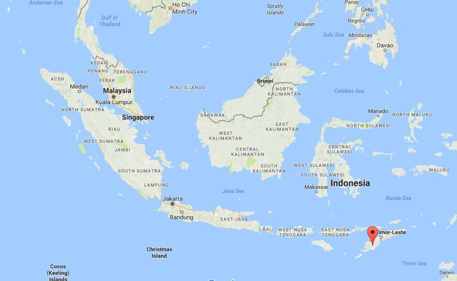 Where is timor on map indonesia world easy guides location of timor on map indonesia publicscrutiny Image collections