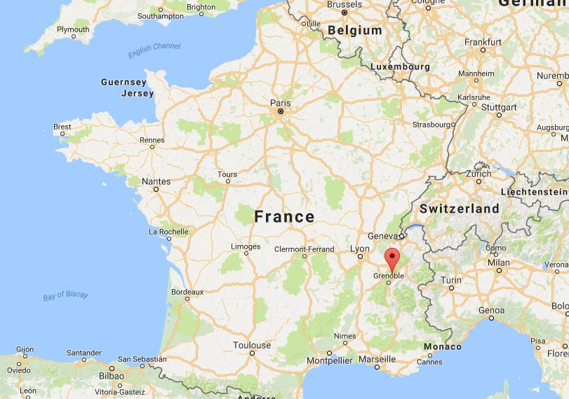 Map Of France With Mountains.Where Is Chartreuse Mountains On Map France