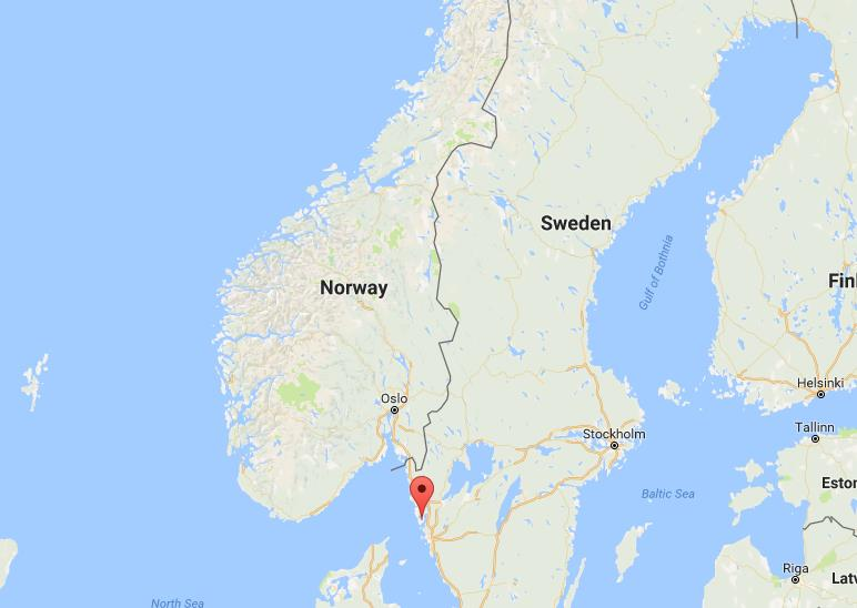 Where is Tjorn on map Sweden World Easy Guides