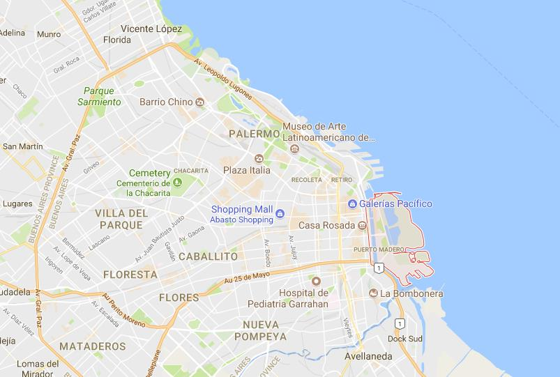 Where Is Puerto Madero On Map Buenos Aires World Easy Guides - Where is buenos aires