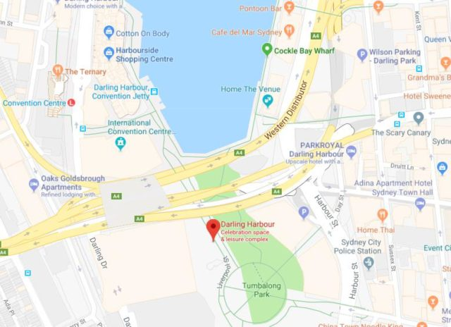 Maps of Sydney World Easy Guides