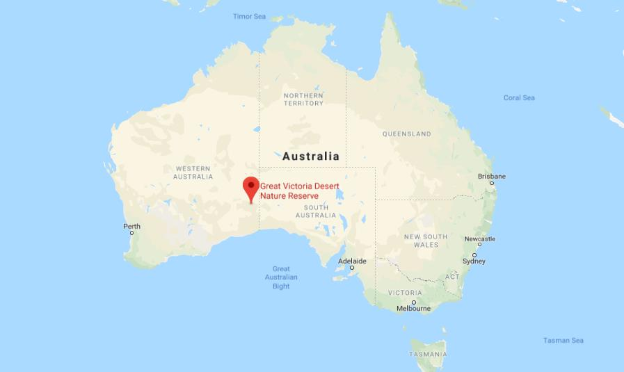 Map Of Australia Desert.Where Is Great Victoria Desert On Map Of Australia