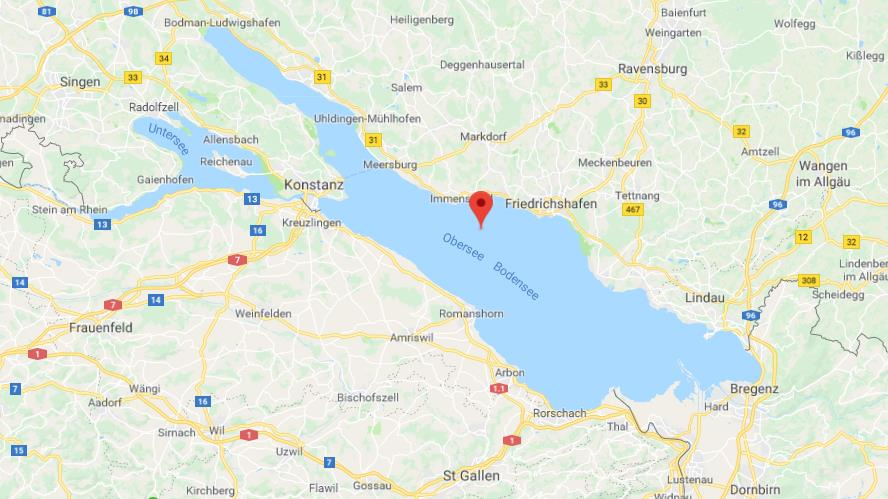 Map of Lake Constance World Easy Guides