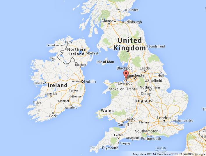Liverpool Map Uk Liverpool on Map of UK Liverpool Map Uk