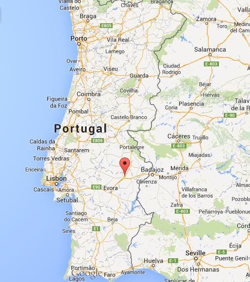 estremoz mapa Where is Estremoz map Portugal estremoz mapa