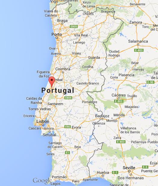 mapa portugal leiria Where is Leiria on map Portugal mapa portugal leiria