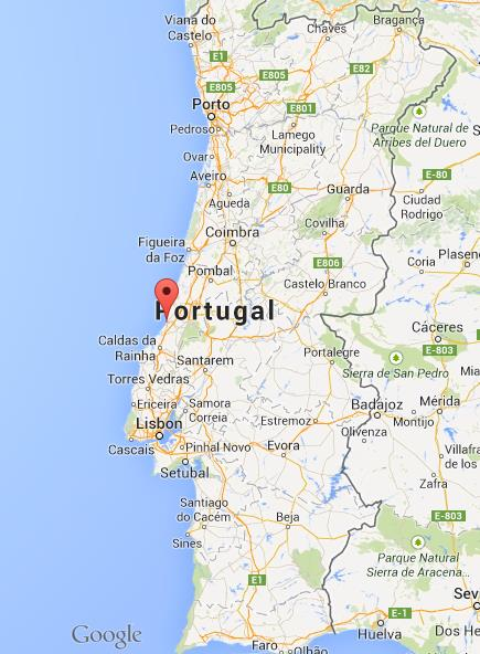 mapa portugal nazare Where is Nazare on map of Portugal mapa portugal nazare