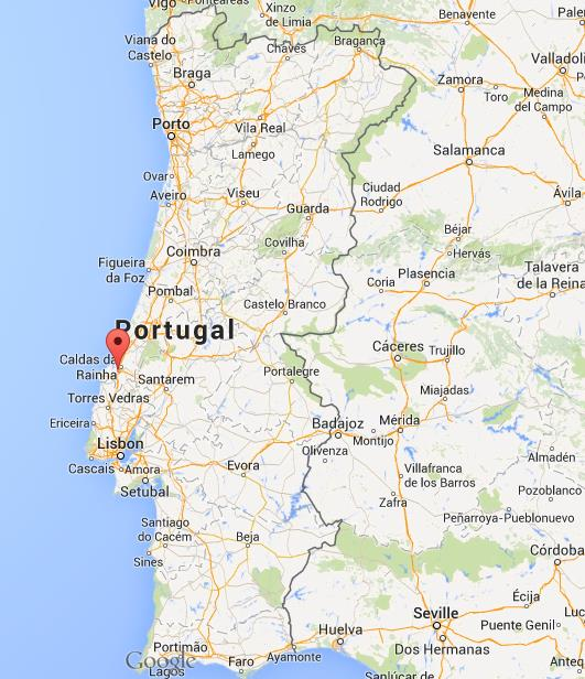 mapa portugal óbidos Where is Obidos map Portugal mapa portugal óbidos