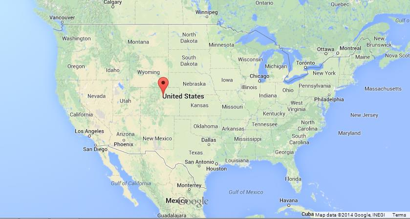 Where Is Denver Colorado On The Us Map Denver on US Map