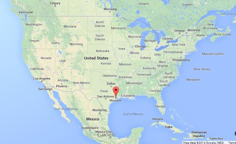Houston On Map Houston on Map of USA Houston On Map